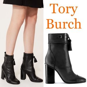 🆕Tory Burch Runway Heeled Ankle Boots Bootie